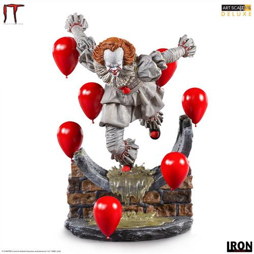 Iron Studios推出《小丑还魂2》潘尼怀斯1/10豪华版雕像 模玩 第1张