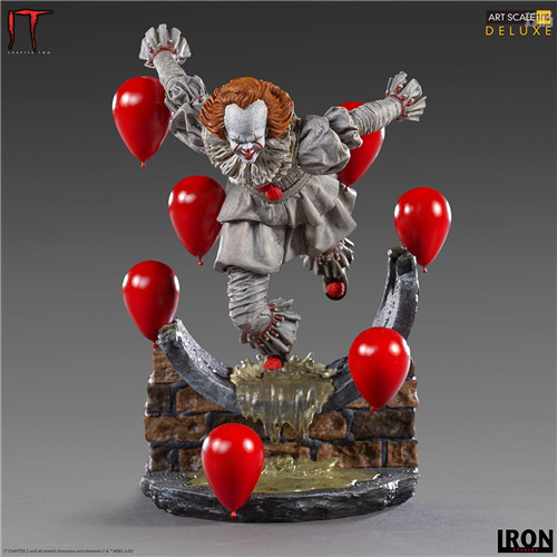 Iron Studios推出《小丑还魂2》潘尼怀斯1/10豪华版雕像 模玩 第2张