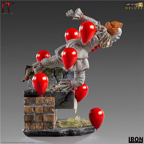Iron Studios推出《小丑还魂2》潘尼怀斯1/10豪华版雕像 模玩 第5张