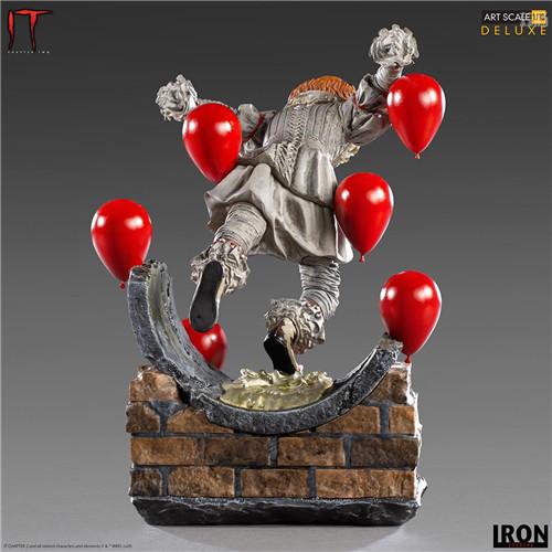 Iron Studios推出《小丑还魂2》潘尼怀斯1/10豪华版雕像 模玩 第4张