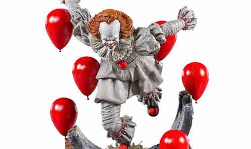 Iron Studios推出《小丑还魂2》潘尼怀斯1/10豪华版雕像