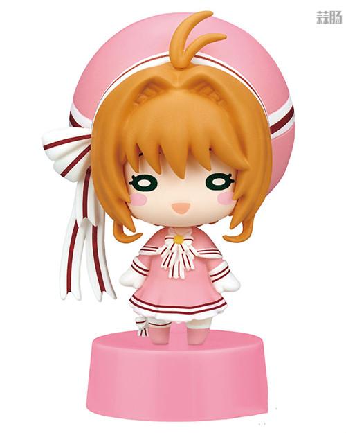 Takara Tomy Arts推出《魔卡少女樱:透明卡篇》扭蛋 模玩 第1张