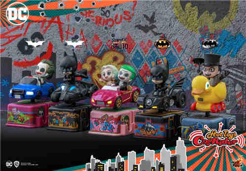 Hot Toys 2020年全新系列CosRider电动摇摇车珍藏品诞生