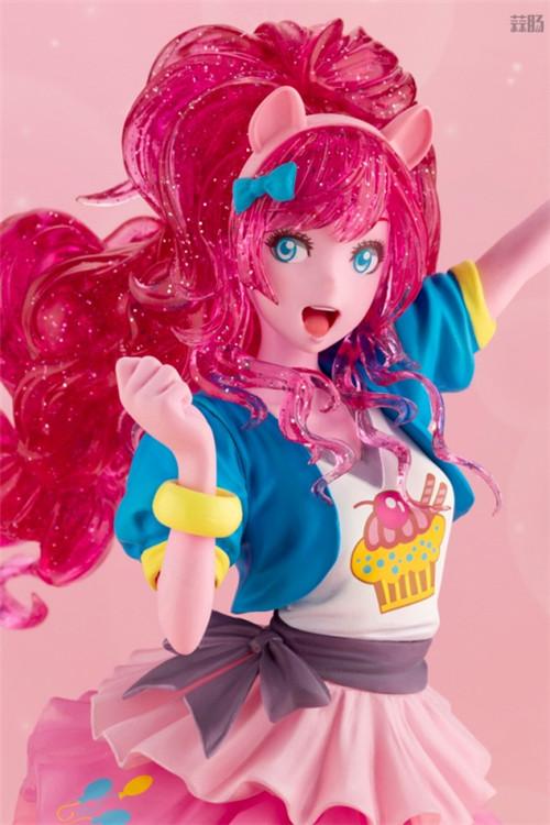 寿屋推出美少女系列《小马宝莉》萍琪派限量版 发色大变样 模玩 第5张