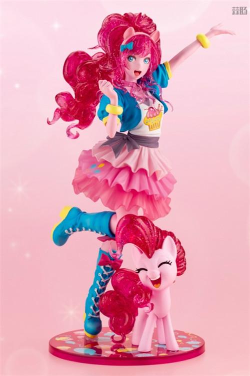 寿屋推出美少女系列《小马宝莉》萍琪派限量版 发色大变样 模玩 第2张