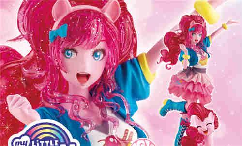 寿屋推出美少女系列《小马宝莉》萍琪派限量版 发色大变样