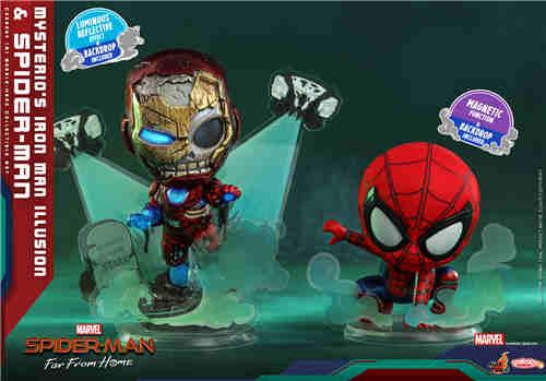 Hot Toys推出《雷神3》《蜘蛛侠:英雄远征》COSBABY迷你人偶