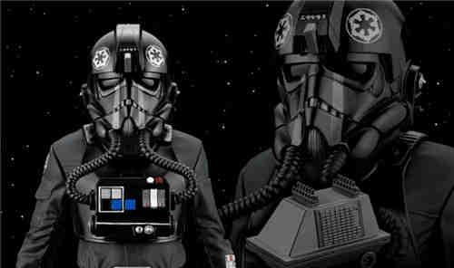 寿屋公开《星球大战4》钛战机飞行员1/10限定版 附带老鼠机器人