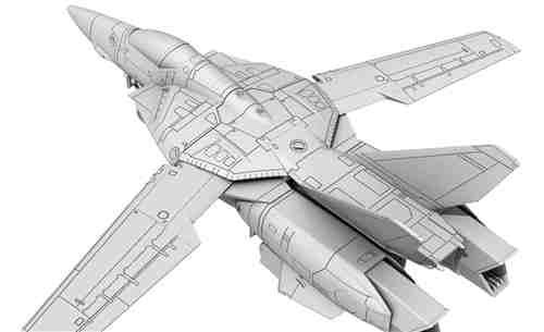 MaxFactory计划推出《超时空要塞》VF-1女武神1/72模型