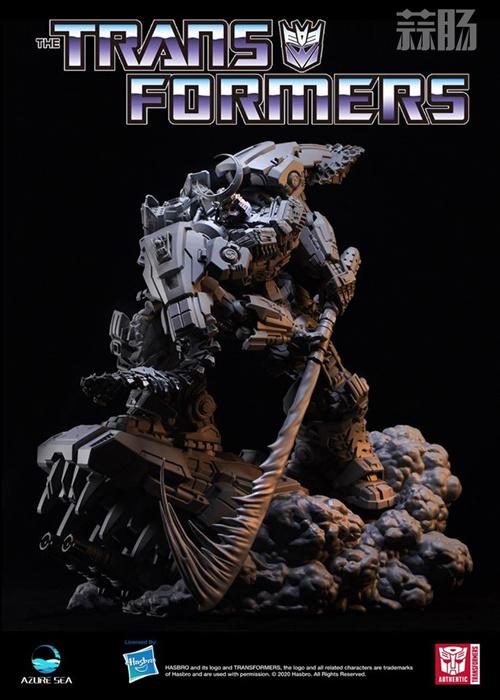 Azure Sea Studio推出《变形金刚:隐者战士》雾隐暗丈大型雕像 模玩 第8张