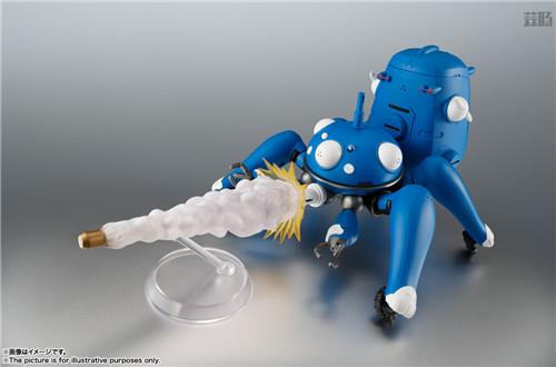 万代ROBOT魂推出《攻壳机动队S.A.C. 2nd GIG》塔奇克马可动人偶 模玩 第5张