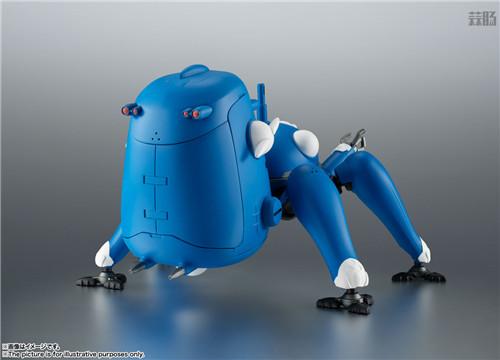 万代ROBOT魂推出《攻壳机动队S.A.C. 2nd GIG》塔奇克马可动人偶 模玩 第2张