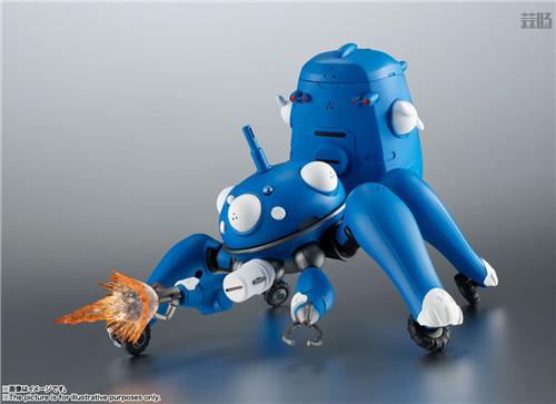 万代ROBOT魂推出《攻壳机动队S.A.C. 2nd GIG》塔奇克马可动人偶 模玩 第3张