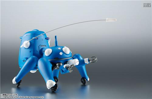 万代ROBOT魂推出《攻壳机动队S.A.C. 2nd GIG》塔奇克马可动人偶 模玩 第6张