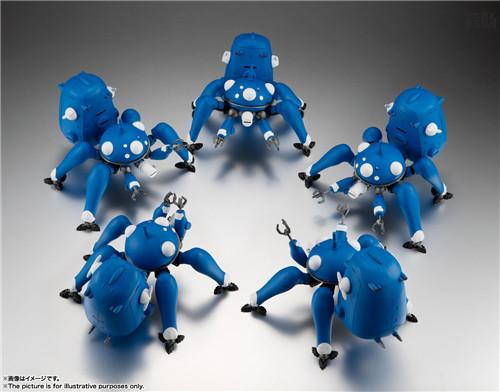 万代ROBOT魂推出《攻壳机动队S.A.C. 2nd GIG》塔奇克马可动人偶 模玩 第7张