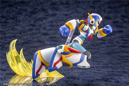 寿屋公开《洛克人X》艾克斯超力装甲1/12可动瓶装模型 模玩 第8张