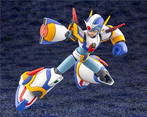 寿屋公开《洛克人X》艾克斯超力装甲1/12可动瓶装模型 模玩 第6张