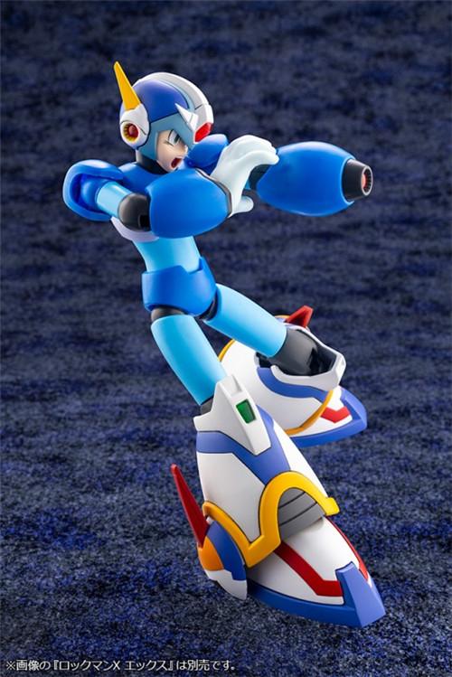 寿屋公开《洛克人X》艾克斯超力装甲1/12可动瓶装模型 模玩 第9张