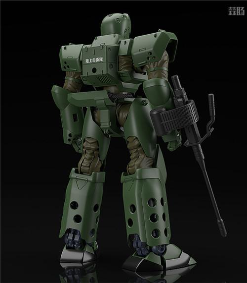 良笑社推出Moderoid《机动警察》ARL-99地狱潜行者1/60模型 模玩 第5张