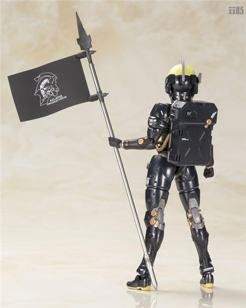 寿屋推出小岛工作室形象Ludens黑色版拼装模型 模玩 第3张