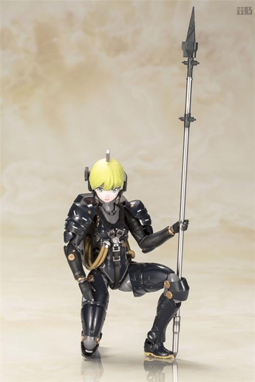 寿屋推出小岛工作室形象Ludens黑色版拼装模型 模玩 第4张