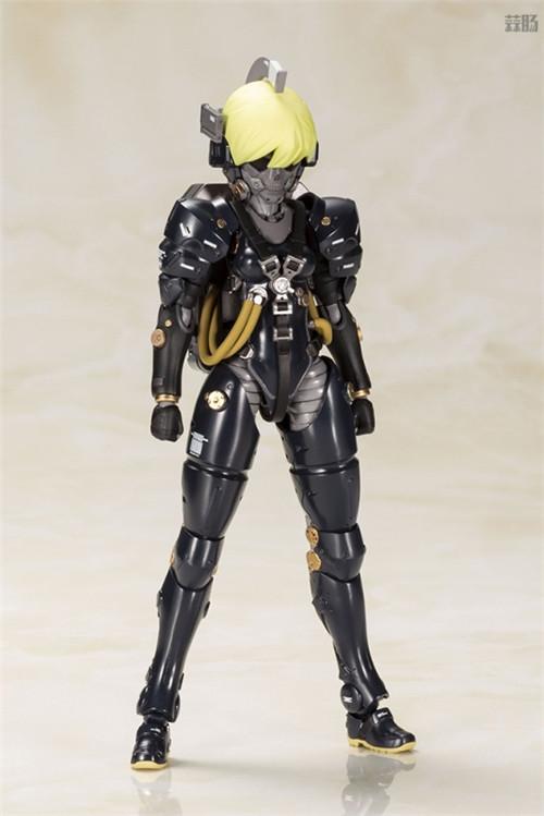 寿屋推出小岛工作室形象Ludens黑色版拼装模型 模玩 第9张