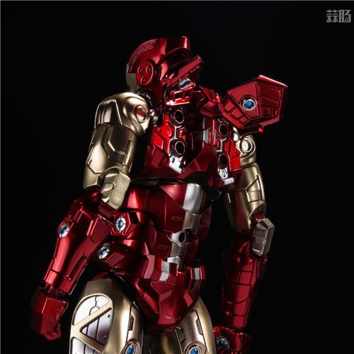 千值练推出新系列Fighting Armor第一弹钢铁侠 钢铁侠 Fighting Armor 漫威 千值练 模玩  第4张