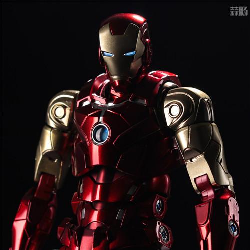 千值练推出新系列Fighting Armor第一弹钢铁侠 钢铁侠 Fighting Armor 漫威 千值练 模玩  第3张