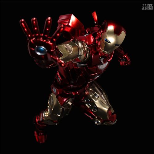 千值练推出新系列Fighting Armor第一弹钢铁侠 钢铁侠 Fighting Armor 漫威 千值练 模玩  第6张