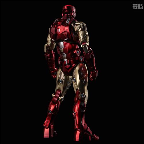 千值练推出新系列Fighting Armor第一弹钢铁侠 钢铁侠 Fighting Armor 漫威 千值练 模玩  第2张