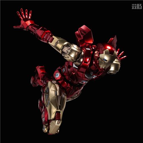 千值练推出新系列Fighting Armor第一弹钢铁侠 钢铁侠 Fighting Armor 漫威 千值练 模玩  第7张