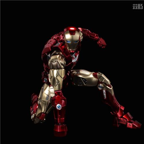 千值练推出新系列Fighting Armor第一弹钢铁侠 钢铁侠 Fighting Armor 漫威 千值练 模玩  第5张