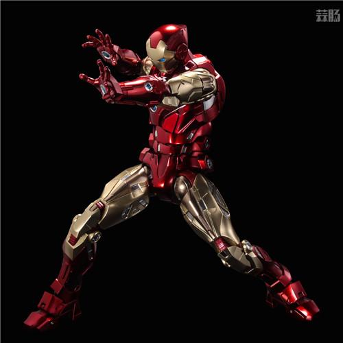 千值练推出新系列Fighting Armor第一弹钢铁侠 钢铁侠 Fighting Armor 漫威 千值练 模玩  第9张