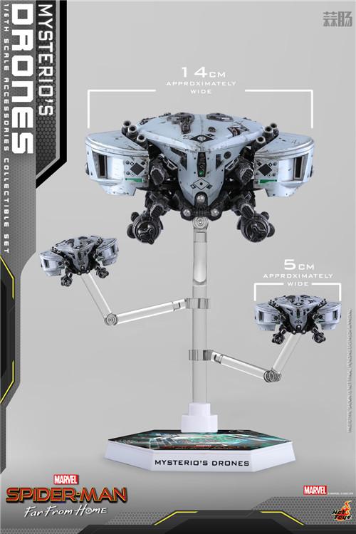 Hot Toys推出《蜘蛛侠: 英雄远征》神秘客无人机1/6套装 模玩 第2张