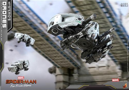 Hot Toys推出《蜘蛛侠: 英雄远征》神秘客无人机1/6套装 模玩 第6张