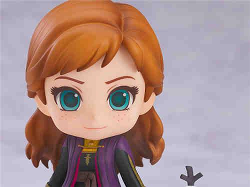 良笑社推出《冰雪奇缘2》安娜旅行版粘土人
