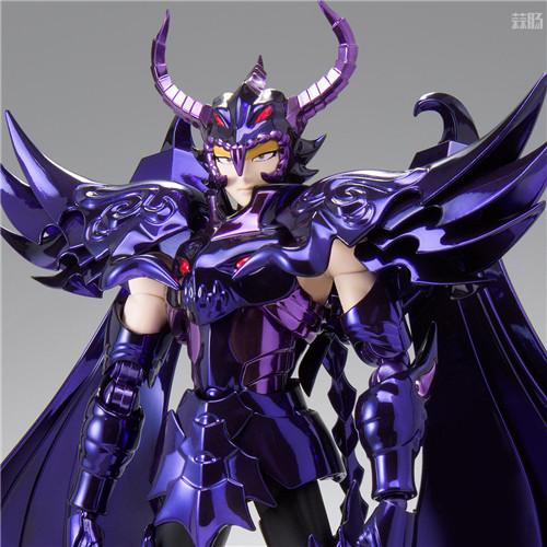 万代推出圣衣神话EX天猛星达拉曼迪斯原色版 达拉曼迪斯 冥界三巨头 圣衣神话EX 万代魂 万代 模玩  第1张