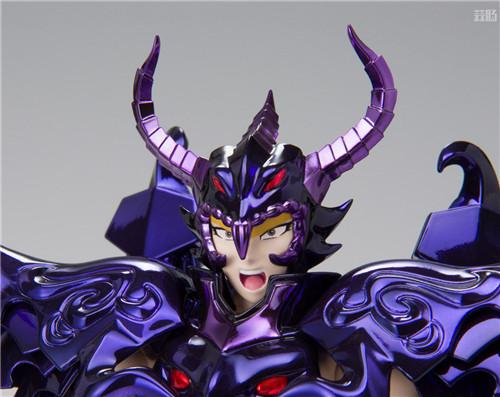 万代推出圣衣神话EX天猛星达拉曼迪斯原色版 达拉曼迪斯 冥界三巨头 圣衣神话EX 万代魂 万代 模玩  第6张