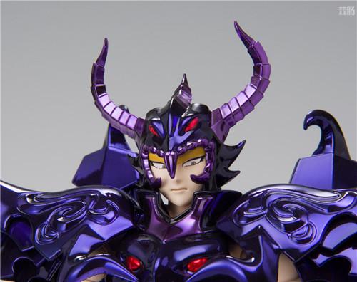 万代推出圣衣神话EX天猛星达拉曼迪斯原色版 达拉曼迪斯 冥界三巨头 圣衣神话EX 万代魂 万代 模玩  第8张
