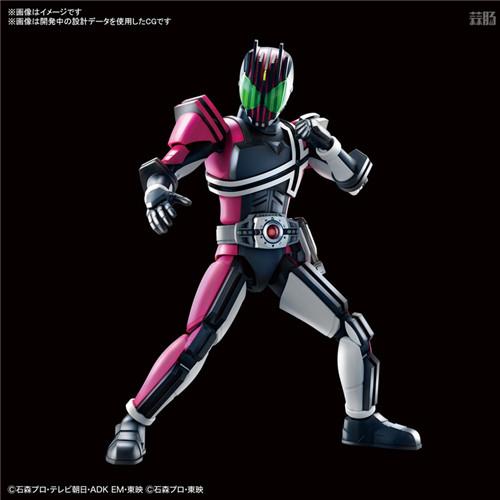 万代推出Figure rise Standard假面骑士Decade 假面骑士Decade Figure rise Standard 万代 模玩  第1张
