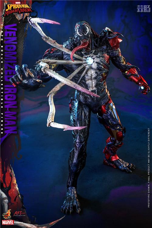 HotToys推出《蜘蛛侠:最大毒液》Artist Collection联动毒液化钢铁侠1:6人偶 模玩 第2张