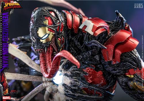 HotToys推出《蜘蛛侠:最大毒液》Artist Collection联动毒液化钢铁侠1:6人偶 模玩 第6张
