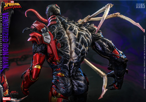 HotToys推出《蜘蛛侠:最大毒液》Artist Collection联动毒液化钢铁侠1:6人偶 模玩 第7张