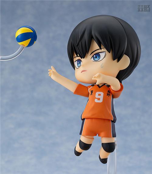 良笑社推出《排球少年!!》影山飞雄新生乌野版粘土人 模玩 第2张