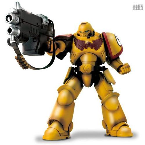 万代推出《战锤40K》帝国之拳星际战士可动手办 可动手办 星际战士 帝国之拳 战锤40K 万代 模玩  第1张