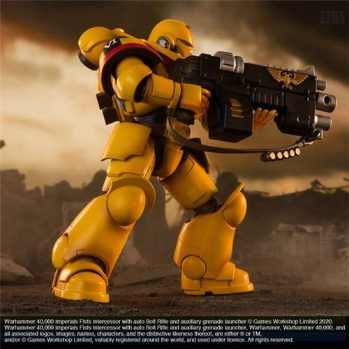万代推出《战锤40K》帝国之拳星际战士可动手办 可动手办 星际战士 帝国之拳 战锤40K 万代 模玩  第7张