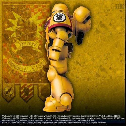 万代推出《战锤40K》帝国之拳星际战士可动手办 可动手办 星际战士 帝国之拳 战锤40K 万代 模玩  第3张