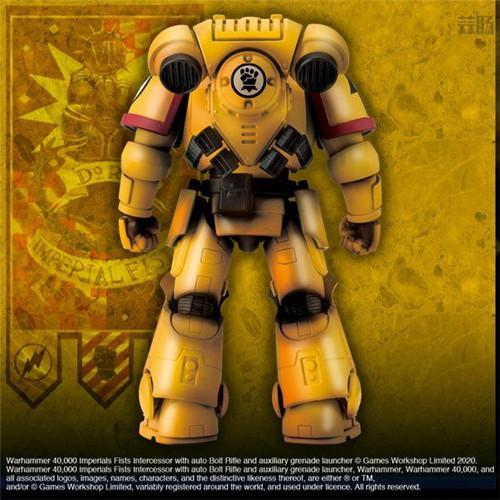 万代推出《战锤40K》帝国之拳星际战士可动手办 可动手办 星际战士 帝国之拳 战锤40K 万代 模玩  第4张