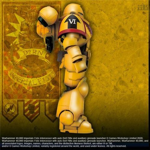 万代推出《战锤40K》帝国之拳星际战士可动手办 可动手办 星际战士 帝国之拳 战锤40K 万代 模玩  第5张