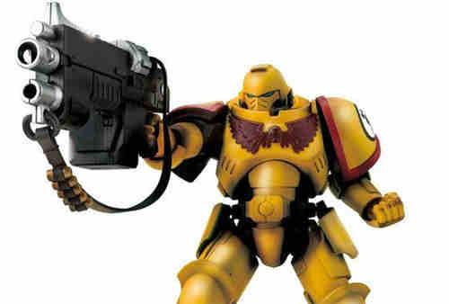 万代推出《战锤40K》帝国之拳星际战士可动手办